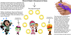 Wreck-It Ralph 2 Storyboard of Ideas 17