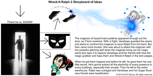 Wreck-It Ralph 2 Storyboard of Ideas 18