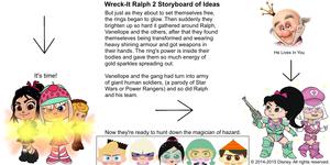 Wreck-It Ralph 2 Storyboard of Ideas 20
