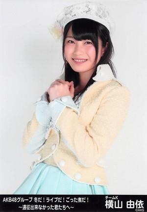 Yokoyama Yui - akb48 Group Fuyuda! Liveda!