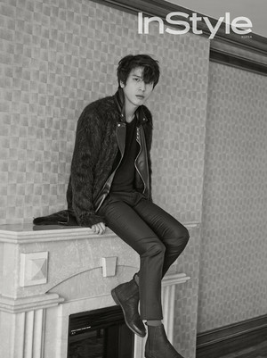 Yonghwa For InStyle Korea's December 2014 Issue