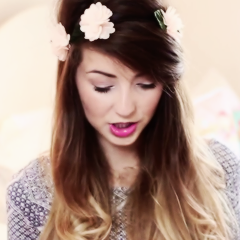 Zoella for te ♥