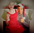 a clintasha christmas - hawkeye-and-black-widow fan art