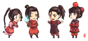 chibi firenation children