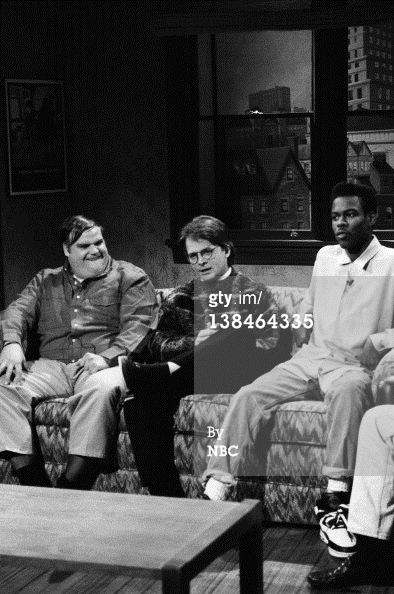 chris farley, chris rock, and michael j лиса, фокс