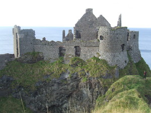 dunluce قلعہ