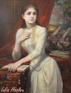 famous romanian people Iulia Hasdeu