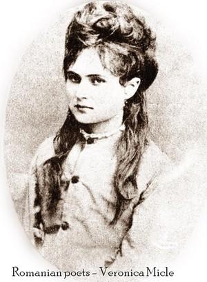 famous romanians poet Veronica Micle