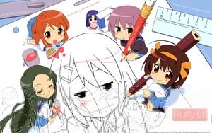 haruhi suzumia K-ON! Pictures!!~