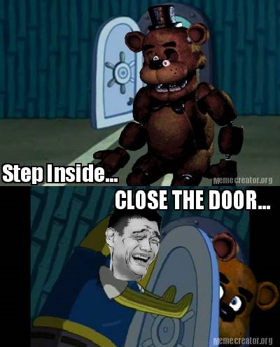 Five Nights at Freddy's پیپر وال containing عملی حکمت titled how about آپ dont