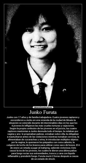 junko Furuta (November 22, 1972 – January 4, 1989)