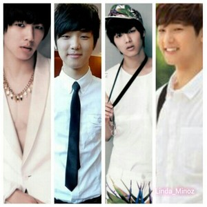 kang min hyuk with white clothes