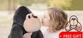 kids stuffed ape - toy-collecting photo