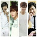 lee min ho with white clothes