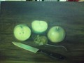 mouse and apples - fine-art photo