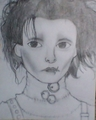 my crappy Edward Scissorhands drawing