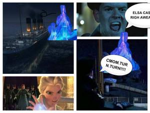 my titanic/frozem parody.part 1