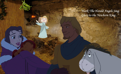 disney crossover fondo de pantalla entitled The Greatest Story Ever Told