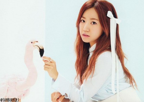 Korea Girls Group A Pink wallpaper probably containing a portrait entitled namjoo - pink luv