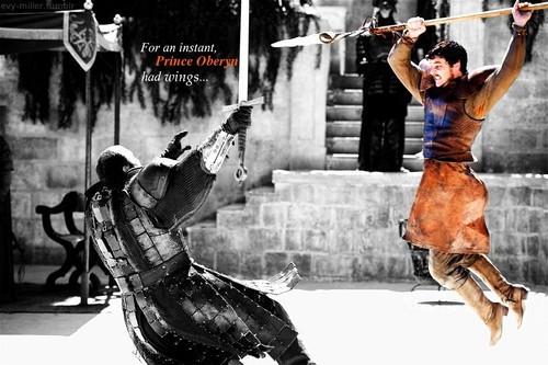 Game Of Thrones Images Oberyn Martell & Gregor Clegane HD