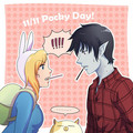 pocky day 14 - fiolee-fionna-and-marshal-lee photo