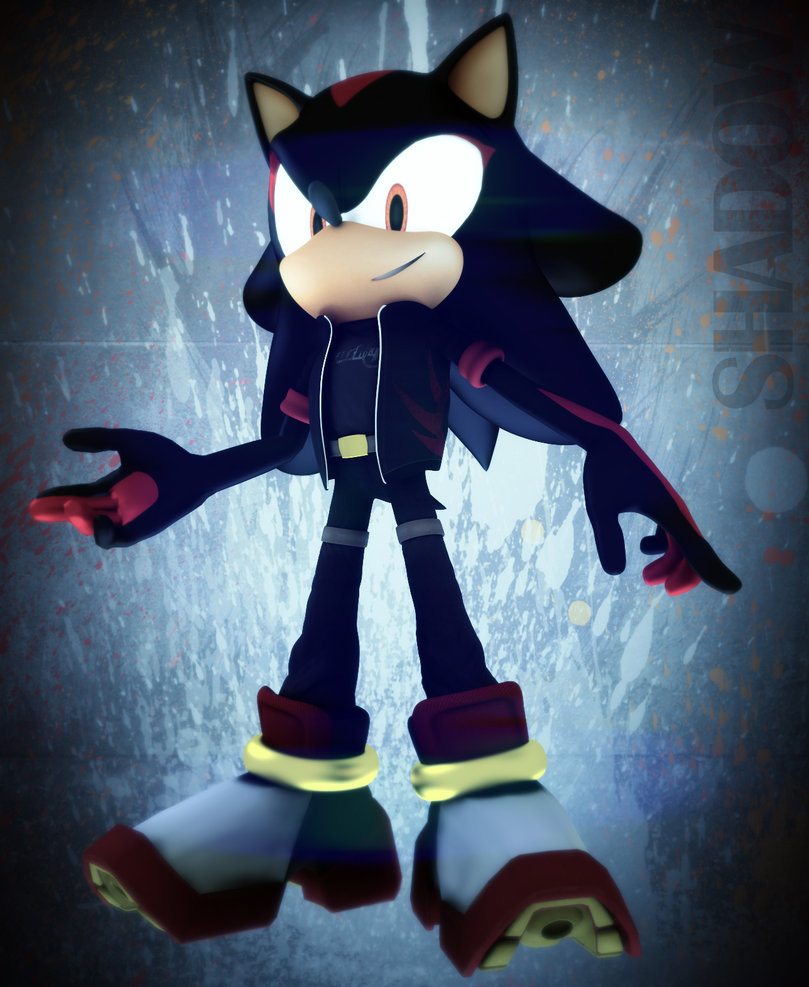 shadow the hedgehog by icembl