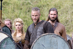 shieldmaid lagertha and ragnar with rollo