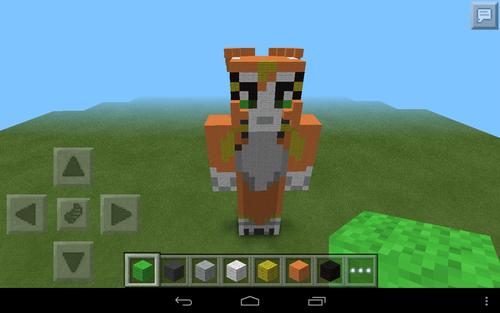 Stampylongnose Hintergrund entitled stampy cat statue