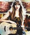 tay with guitar  - unaixa photo