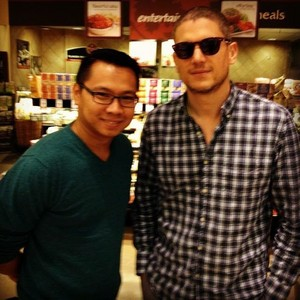wentworth miller and Fan