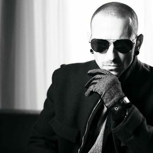 Linkin Park fond d'écran possibly with sunglasses titled Chester