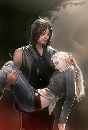 Daryl and Beth