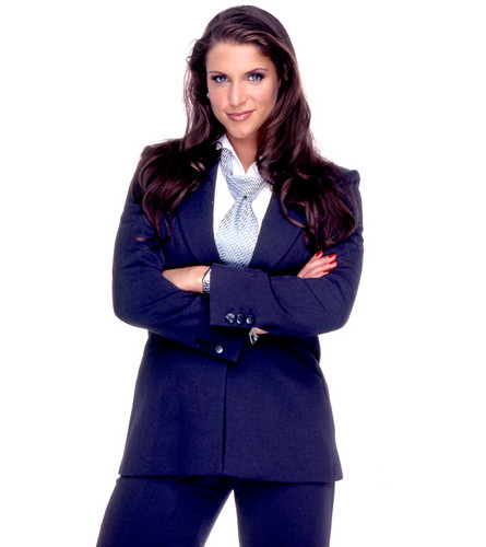 Stephanie Mcmahon Wallpaper With A Well Dressed Person A Business Suit And A Suit