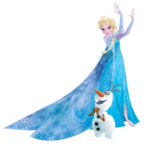 elsa face clipart - photo #38