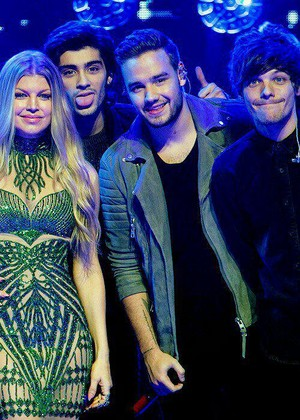 Fergie and 1D