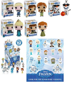 'Frozen' Series 2 POP! Vinyls, Mystery Minis from Funko