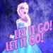 'Let it Go' - frozen icon