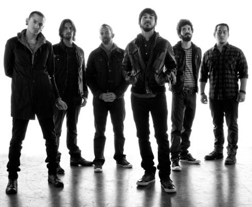 linkin park wallpaper probably containing a business suit and a well dressed person called Linkin Park