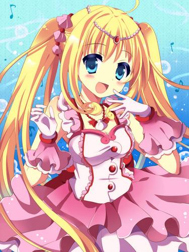 Mermaid Melody Hintergrund called 「 ♔ Lu¢нiα Nαnαmi ♡)