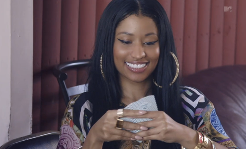 Nicki Minaj wallpaper entitled 'Nicki Minaj: My Time AGAIN'