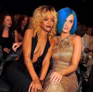 Rihanna and Katy