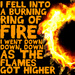 'Ring of Fire' - johnny-cash icon
