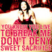 'Sweet Sacrifice' - evanescence icon