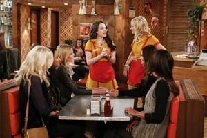 "2 Broke Girls ""And The Model Apartment"" (4x06) promotional picture"