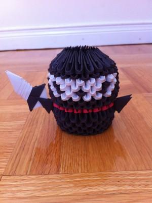 3D Origami Ninja