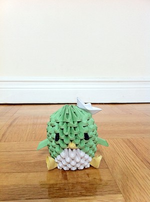 3D Origami ペンギン