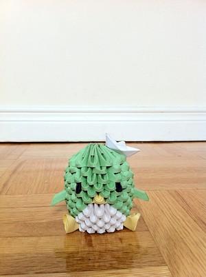 3D Origami پینگوئن, پیںگان