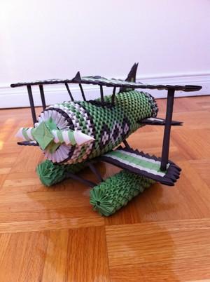 3D Origami Plane