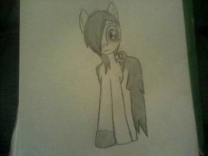 A picture of Aqua I drew~