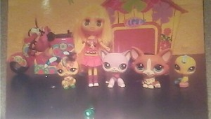 A picture of some of my lps.